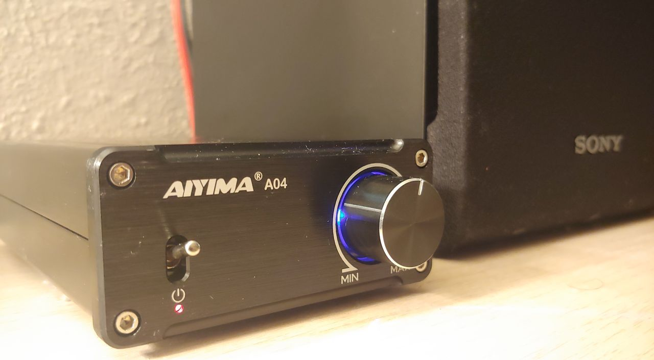 Aiyima A04 TPA3251 Class D Mini Amplifier Review